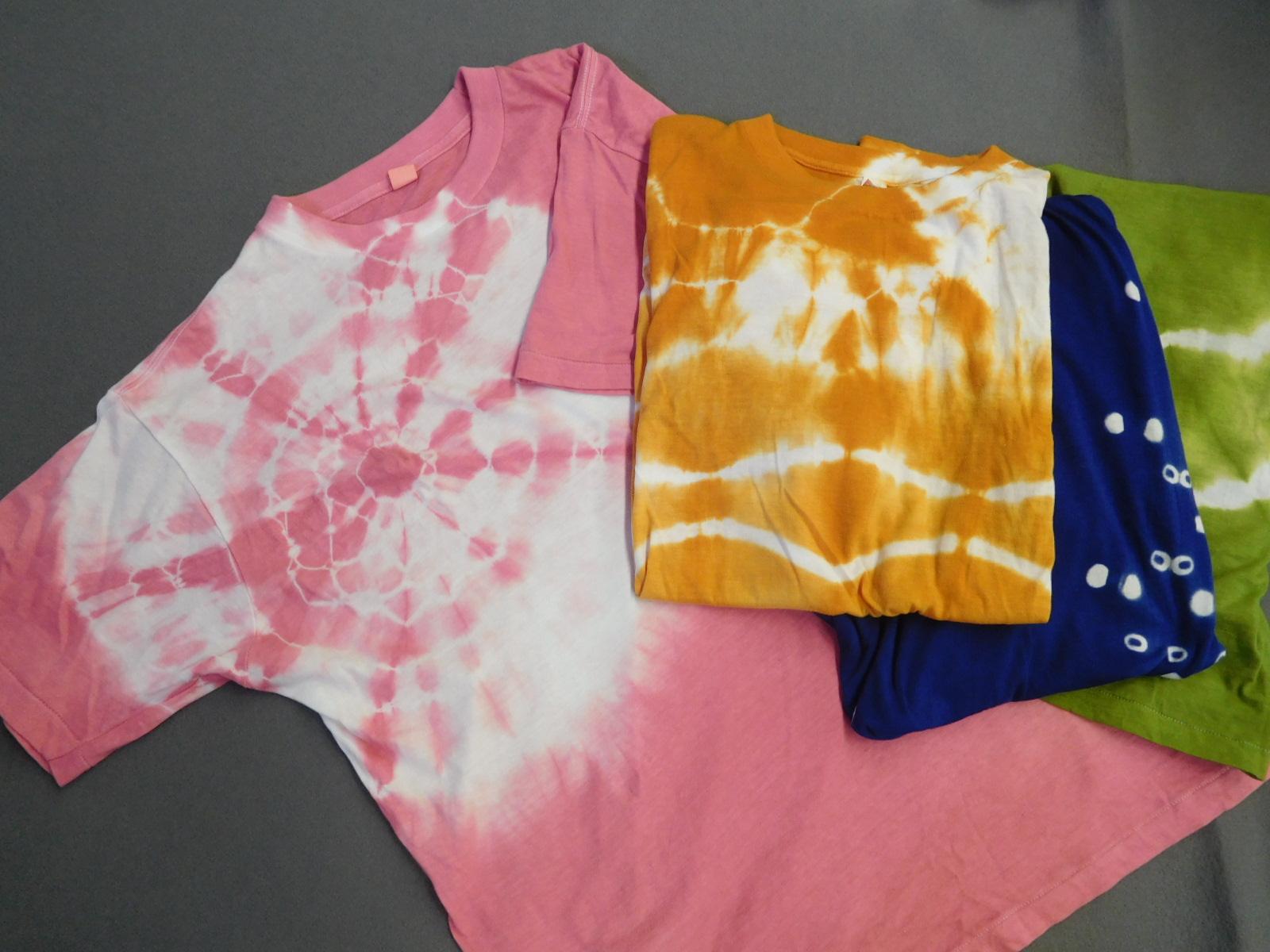 【団体】絞り染め・Tシャツコース