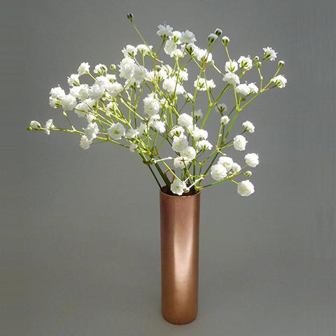 銅の小さな花器づくり