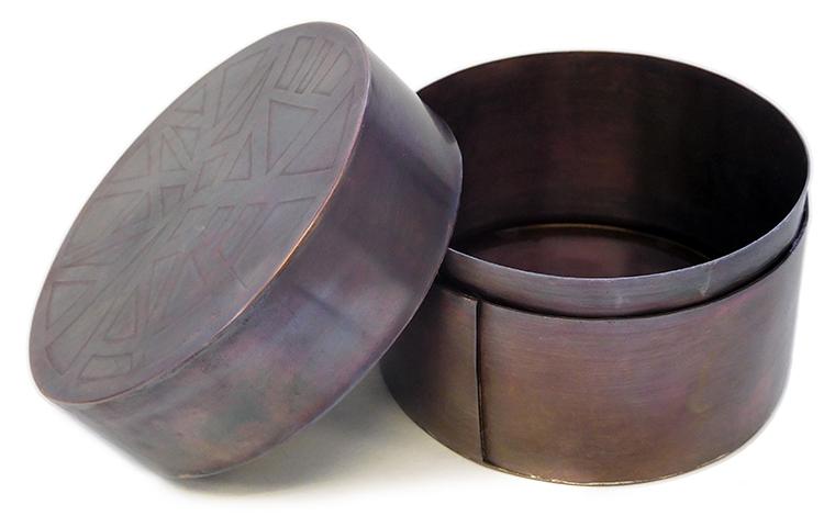 銅の小箱づくり