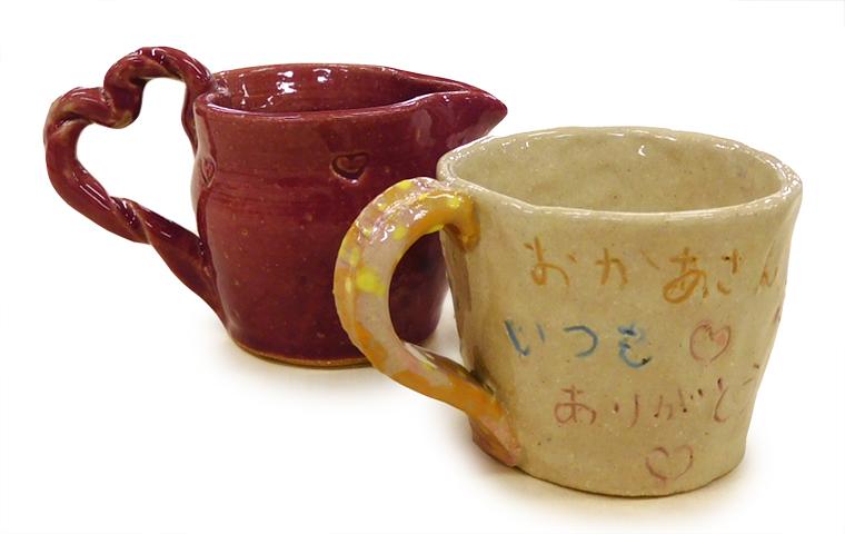 母の日に手づくりのカップを贈ろう 【体験・学び】
