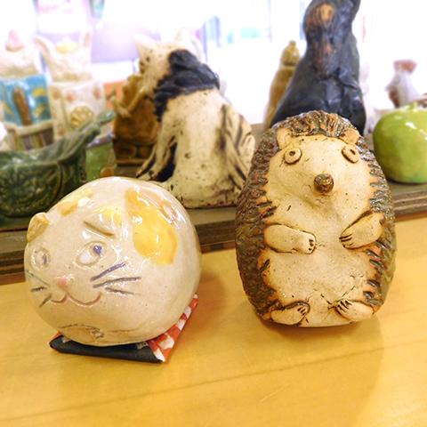 かわいい陶器のオブジェをつくろう(6月) 【体験・学び】