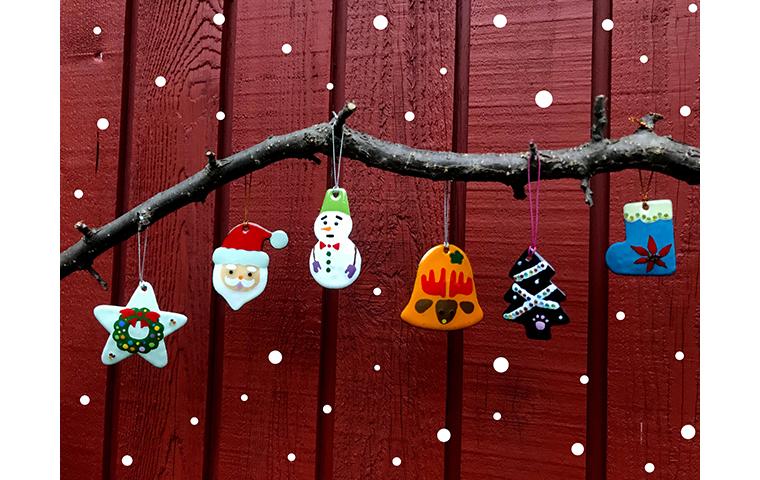 七宝焼でつくるクリスマスオーナメント(11月)【体験・学び】