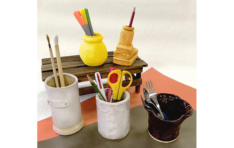 〈小学生限定〉陶器でオリジナルのペン立てをつくろう