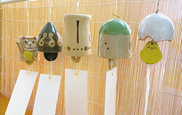 陶器の風鈴で夏を楽しもう!