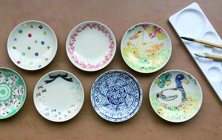 【芸森バースデー】てのひら小皿に絵付け体験