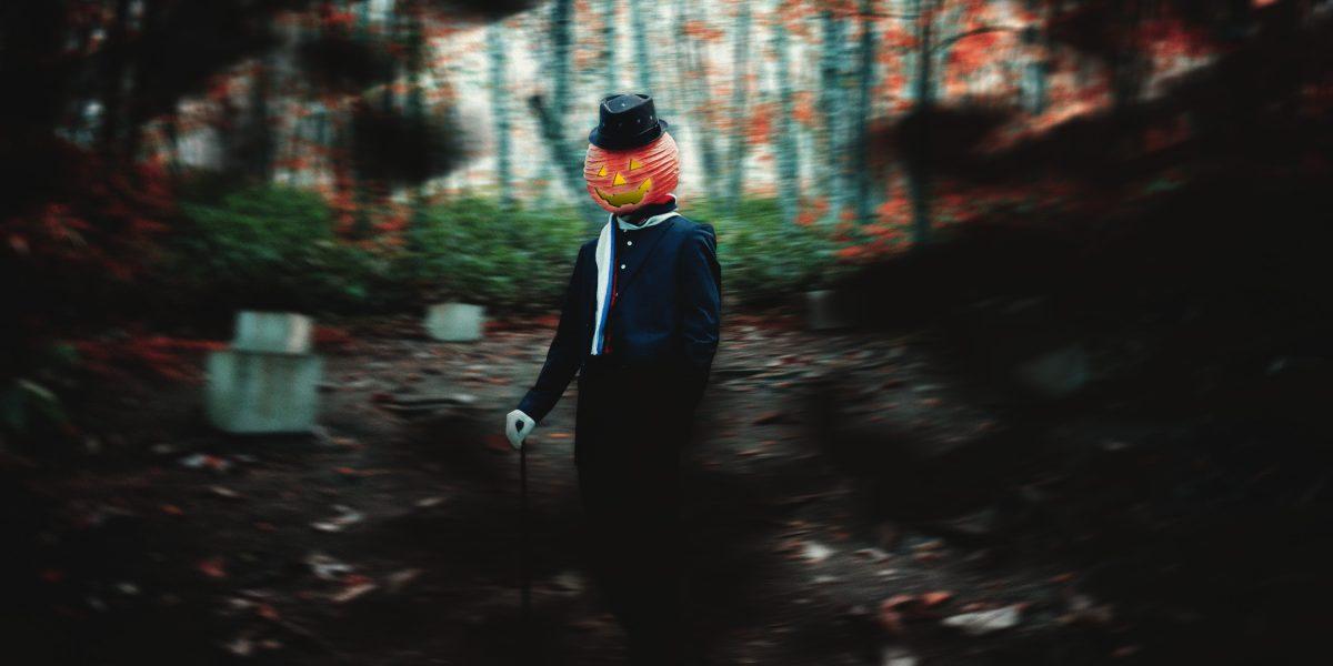 森の中に立つジャックモリー