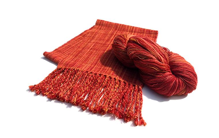 はじめての手紡ぎと織り