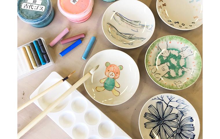 【雪あかりの祭典】てのひら小皿に絵付け体験