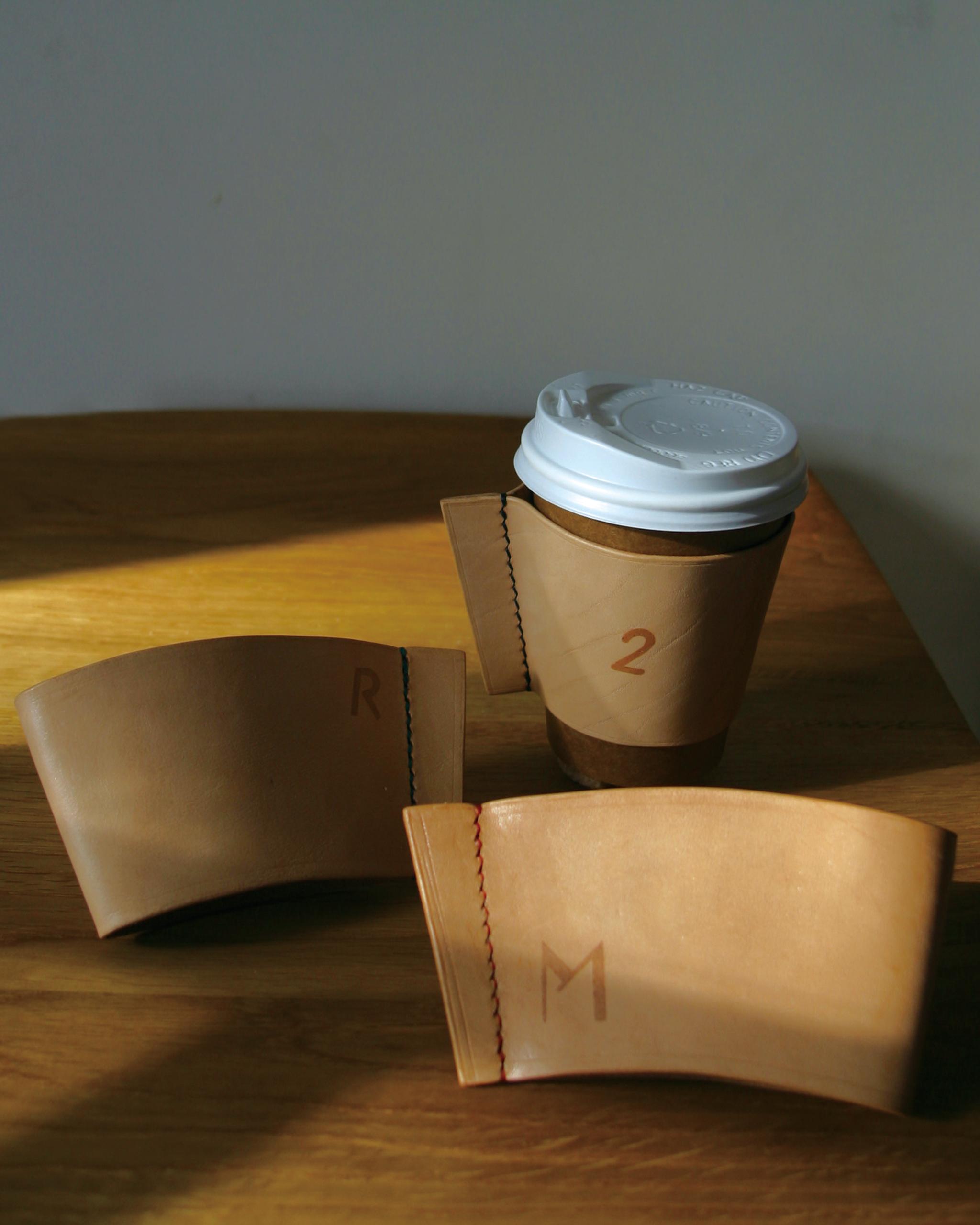 レザーカップスリーブのサンプル画像