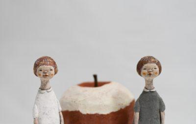 経塚真代作林檎の時間の作品画像