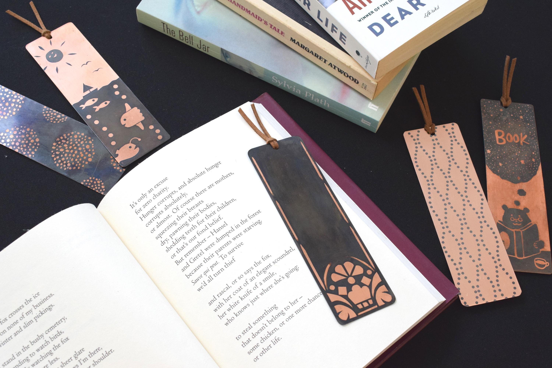オリジナル制作キット「銅でつくるブックマーク」画像