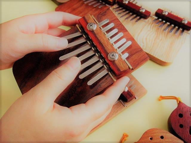 手作りサムピアノ