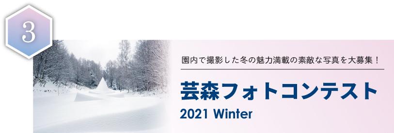 3.芸森フォトコンテスト2021Winter
