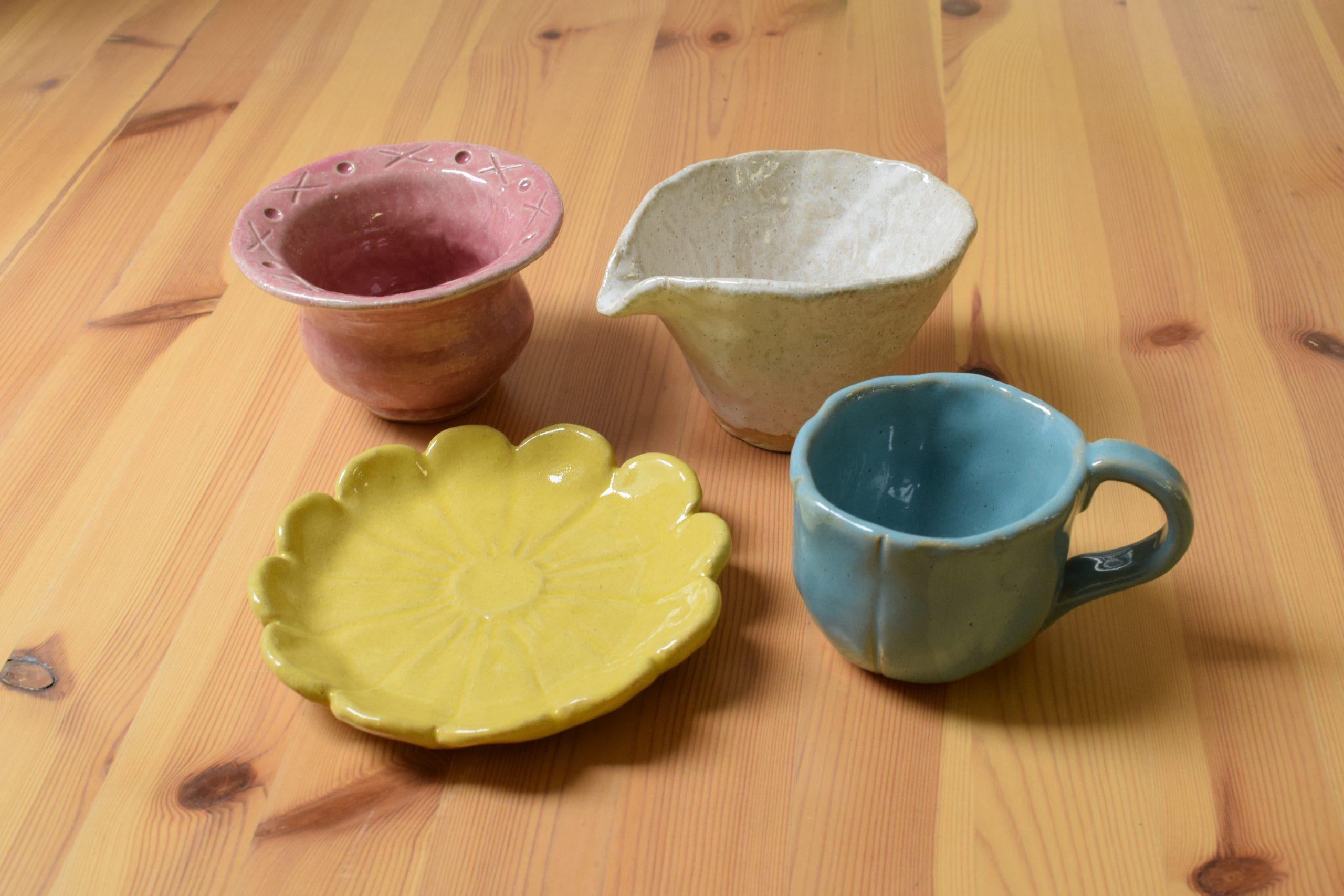 気軽に陶芸体験
